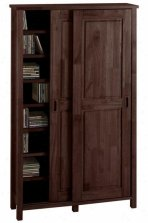 Wood Storage Cabinets with