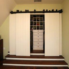 Barn Door Closet Home Design