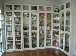 White Ikea Bookshelves
