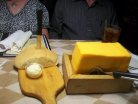 Bread and Cheese at the Barn