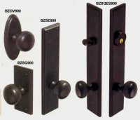 Bronze door hardware