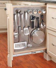 Kitchen storage cabinets with