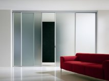 Modern interior sliding door