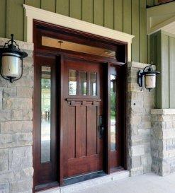 Solid Wood Front Doors Design