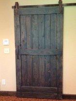 Vintage sliding Barn Door