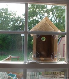 Window Bird House Completed