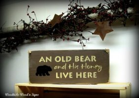 Wooden Sign for Front Door