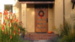 Wreaths for Front Doors by Ana