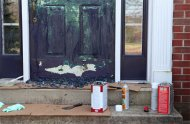 How to strip paint from an metal exterior door