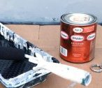 Paint to use for an exterior metal door
