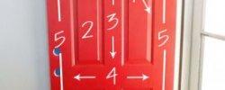 How to paint front Door?