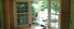 Replacing a double pane windows