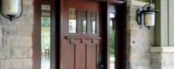 Solid wood front Doors