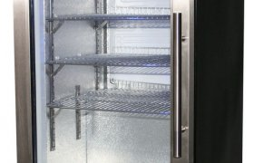 Bar Fridge glass door