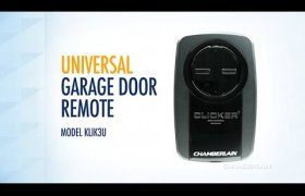 Clicker Universal Garage Door Remote