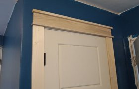 Craftsman door Trim