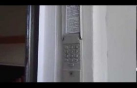 Craftsman Garage door opener keypad