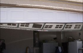 Garage Door panel Repair