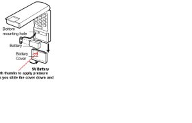 LiftMaster Garage Door opener Battery
