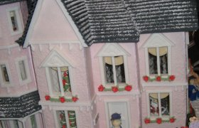 Windows for Gingerbread house