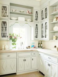 traditional kitchen and hardware bhg