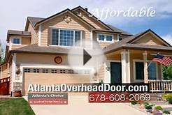 Atlanta Overhead Garage Door Service and Repair