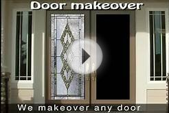 beveled glass doors.flv