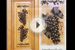 Cabinet door carvings, engravings and designs