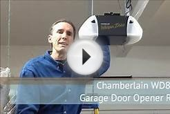Chamberlain WD822KD Garage Door Opener Review
