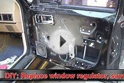 DIY Auto: replace your power window assy. and pocket $200!