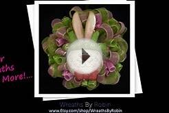 Easter Wreaths For Front Door - Get Festive For Easter!