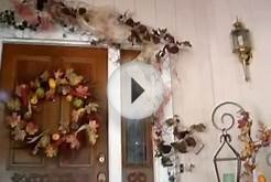 Fall Decorating Festive Front Door