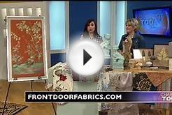 Front Door Fabrics and Interiors on Charlotte Today - Feb 2015