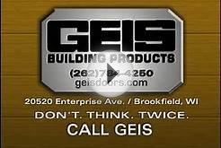 GEIS Garage Doors TV Commercial