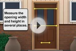 How-to Install LARSON Escape Retractable Screen Door