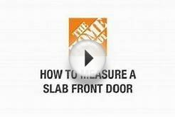 how to measure for a new pre hung front door the home depot
