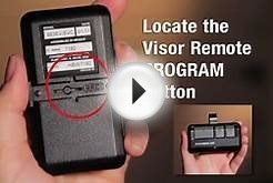 How to Program Chamberlain Garage Door Opener Remote