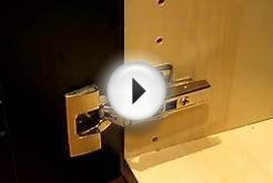 IKEA INTEGRAL Kitchen Cabinet Door Hinge, How to clip and