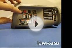 Liftmaster Garage Door Opener Remote Installation