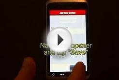 LiftMaster MyQ Android App - Add a Garage Door Opener & Light