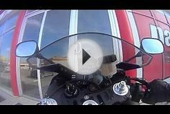 MotoPro: Opening glass door with your front tire - clutch
