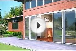 NanaWall Accordion Patio Doors & Custom Glass Doors Animation