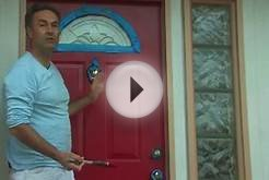 Painting Help Around the House : How to Paint Your Front Door