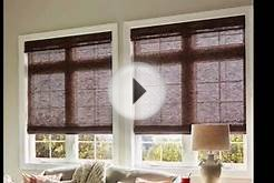 Roman Shades | Roman Shades Over Sliding Glass Doors