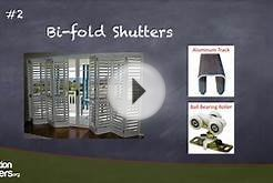 Sliding Glass Door Shutters -- info by Plantation Shutters