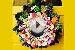 Summer Wreath Ideas For Your Home Front Door