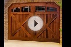 Wood Garage Doors | Wood Garage Doors With Windows